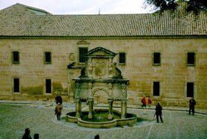 Baeza Santa Maria Brunnen