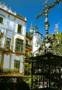 Sevilla Plaza de Santa Cruz 2010-03-16 Foto Elke Backert